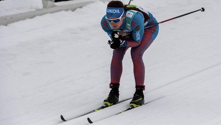 Лыжница Белорукова стала первой в спринте на этапе Кубка мира в Финляндии