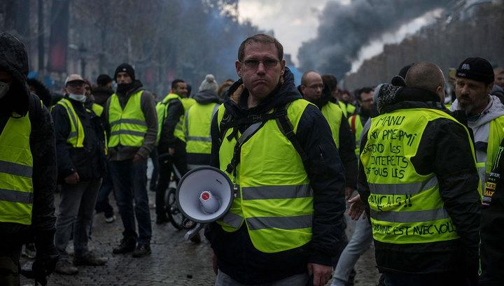 """Акции """"желтых жилетов"""": протестам исполняется полгода"""