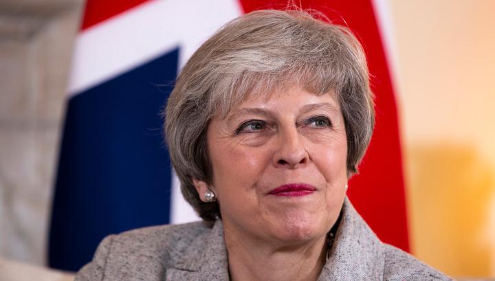 Мэй поблагодарила военных Великобритании за защиту страны от России и ИГИЛ