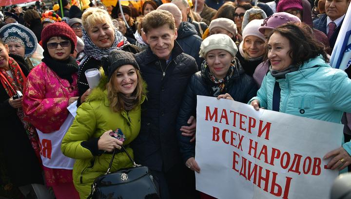 В России отмечается День матери