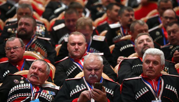 Казаки объединились во Всероссийское казачье общество