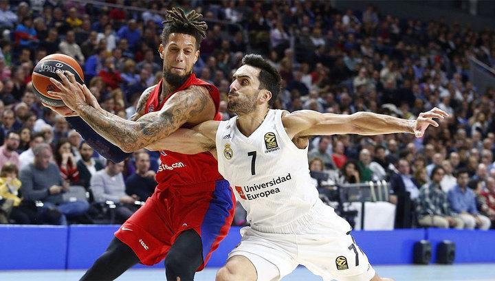Баскетболисты ЦСКА вышли в финал Евролиги