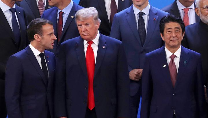 """Лидеры """"двадцатки"""" выступили за реформу ВТО"""
