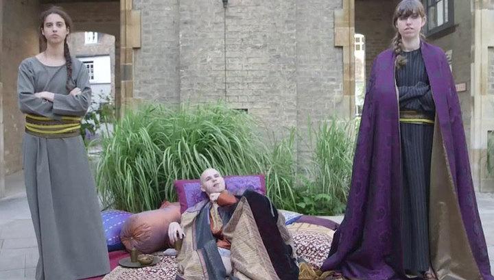 Лингвисты из Кембриджского университета сняли кино на мертвом языке