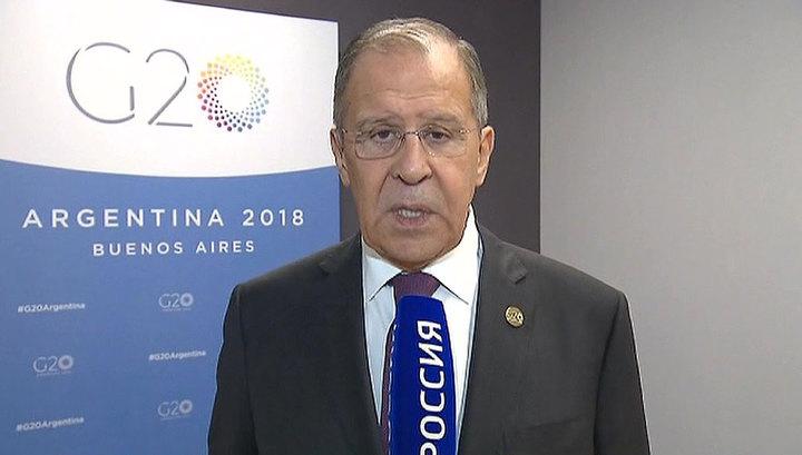Лавров: Россия нормализует диалог с США, когда те будут готовы