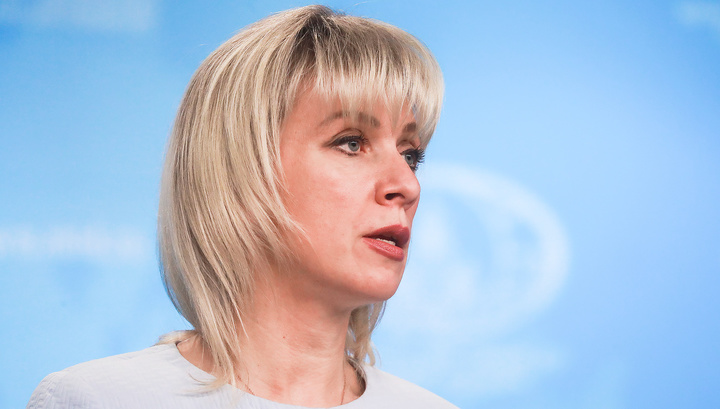 """Захарова прокомментировала """"хоровое"""" заявление по Гуайдо"""