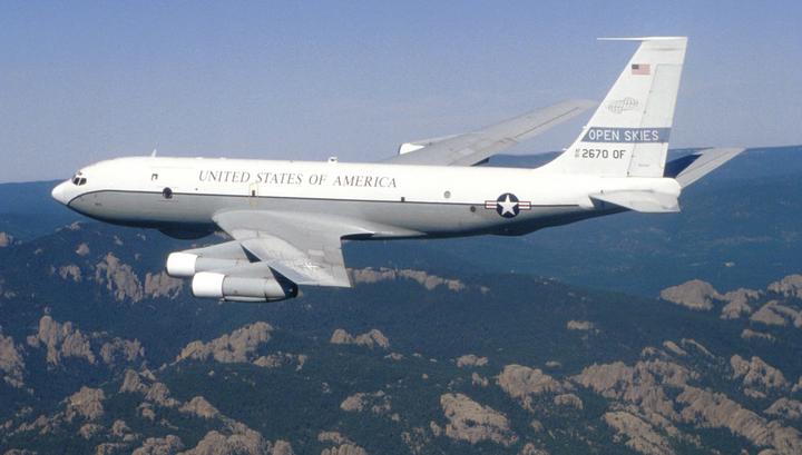 Самолет-разведчик США впервые пролетел над озером Сиваш
