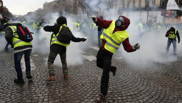 Из 168 задержанных в Париже 112 взяты под стражу
