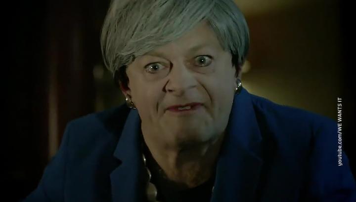Тереза Голлум: в интернете появился ролик, высмеивающий британского премьера
