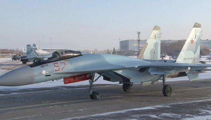 Российское Минобороны получило сотый истребитель новейшего поколения Су-35