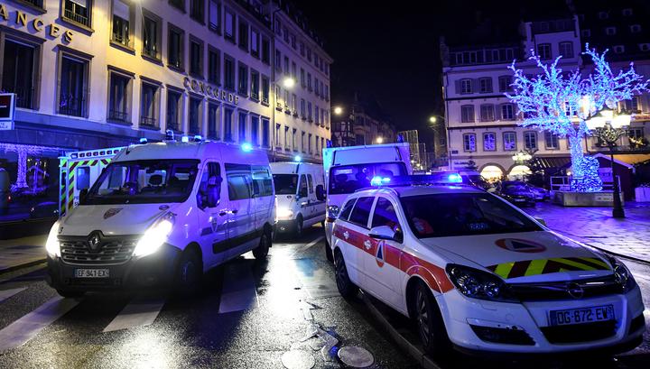 Теракт на ярмарке в Страсбурге: 3 человека погибли, 13 ранены