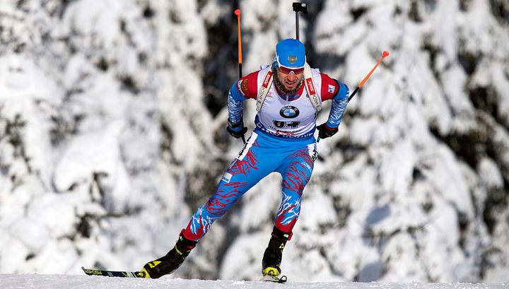 Мартен Фуркад выиграл гонку преследования в Австрии, Логинов - 7-й