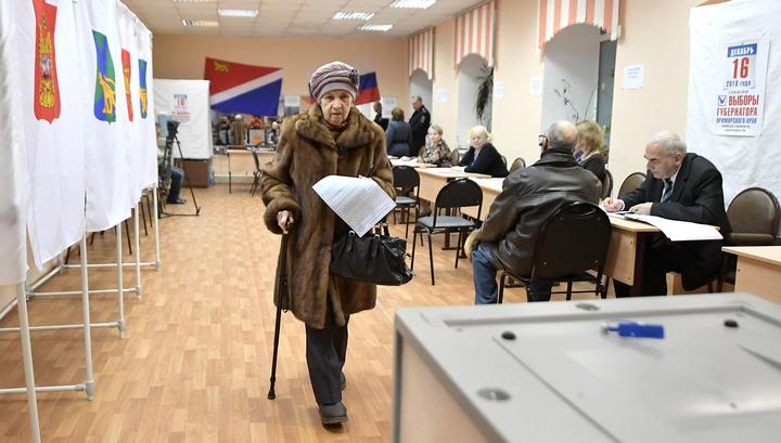 Итоги выборов губернатора Приморья подведут во вторник