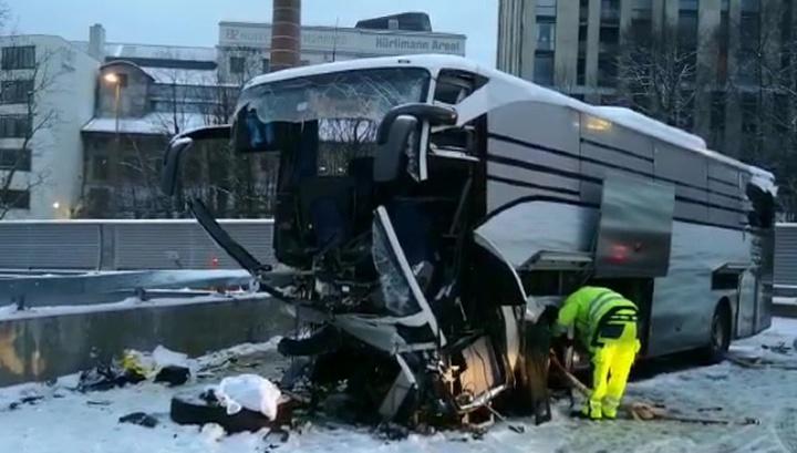 Смертельное ДТП под Цюрихом: в автобусе находились россияне