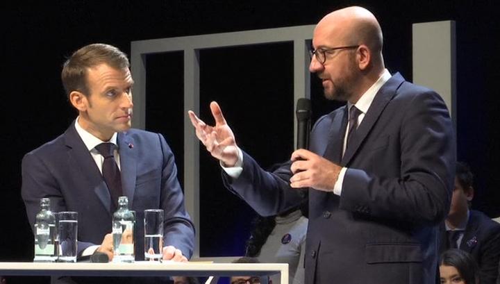 Король Бельгии отложил решение об отставке правительства
