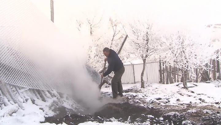 В Башкирии выясняют природу зловредного дыма, возникшего на садовом участке