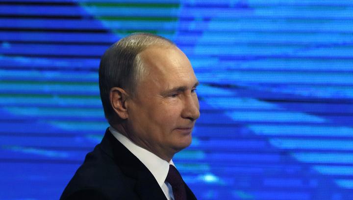 Путин о рэперах: поют с матерком - и пусть поют