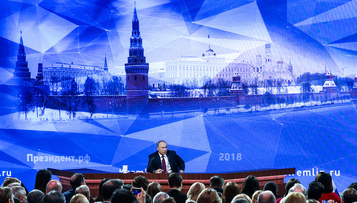 Путин: в России знают, где находится штаб, который пытается управлять миром, и он не в Москве