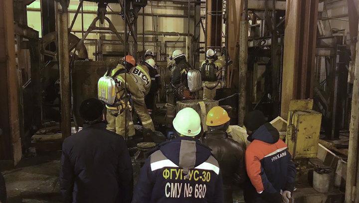 Медведев распорядился помочь пострадавшим при пожаре на шахте в Соликамске