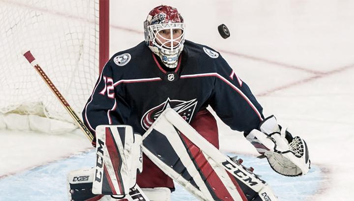 Сергей Бобровский признан первой звездой недели в НХЛ