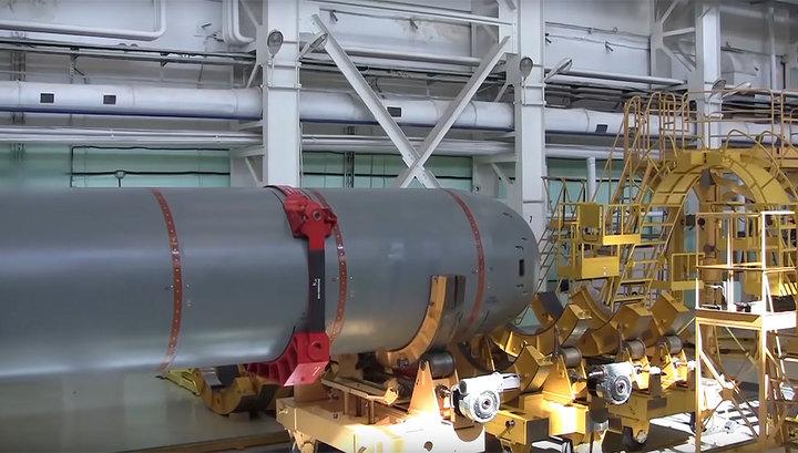 """Военные показали испытания подводного беспилотника """"Посейдон"""""""