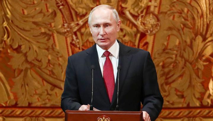"""Путин пришел в Большой на """"Щелкунчика"""" и назвал главные события 2018 года"""