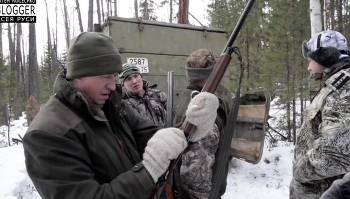 Убил медведя в берлоге: губернаторская охота взорвала соцсети