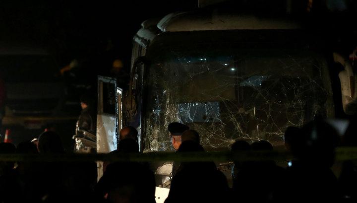 После подрыва автобуса в Египте усилили охрану туристических объектов