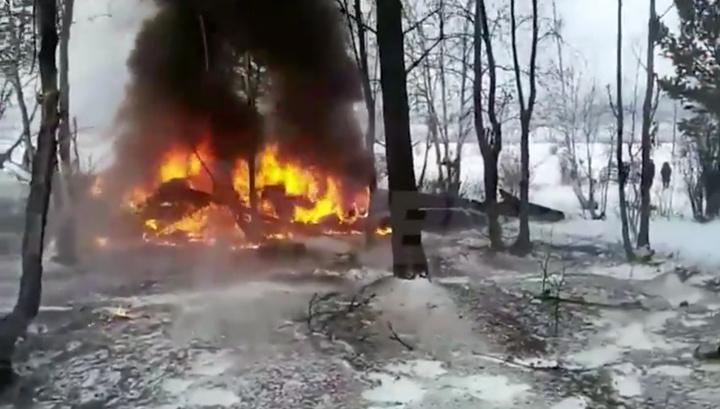 Вертолет в Бурятии мог разбиться из-за плохой погоды