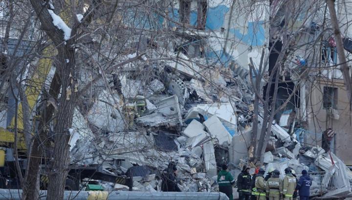МЧС: угроза обрушения дома в Магнитогорске сохраняется
