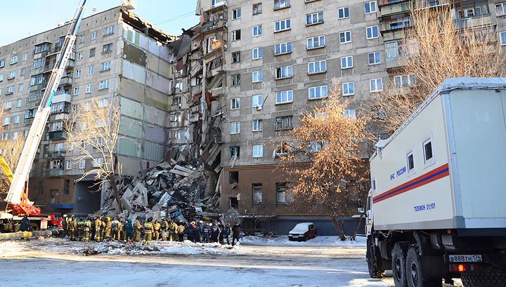 Опознаны тела 22 из 37 погибших под завалами дома в Магнитогорске