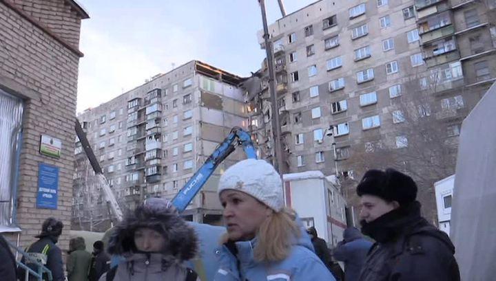 Число жертв обрушения подъезда дома в Магнитогорске еще увеличилось
