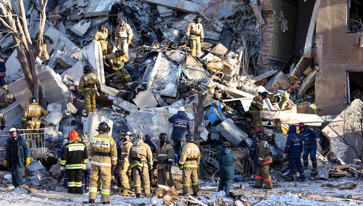 Трагедия в Магнитогорске: два подъезда пострадавшего дома снесут