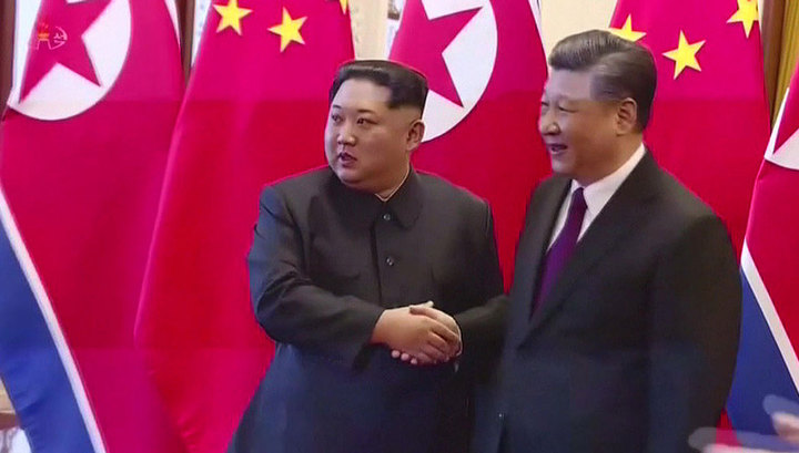 С 7 по 10 января лидер КНДР находится с визитом в Китае