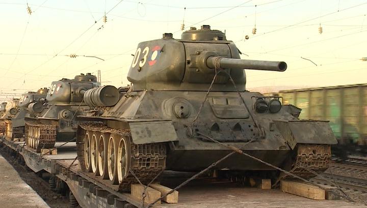 Лаос передал России 30 танков Т-34