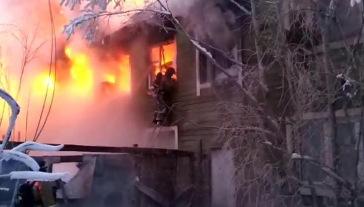 Пожар в многоквартирном жилом доме в Якутске локализован