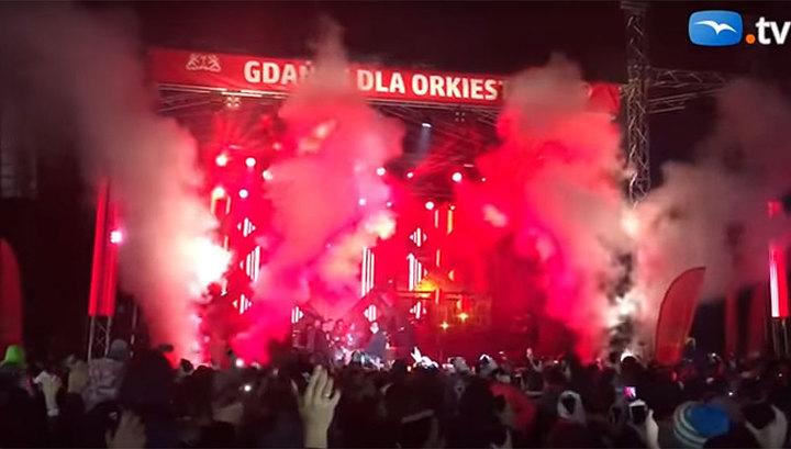 Напавший на мэра Гданьска преступник прошел на концерт по удостоверению СМИ