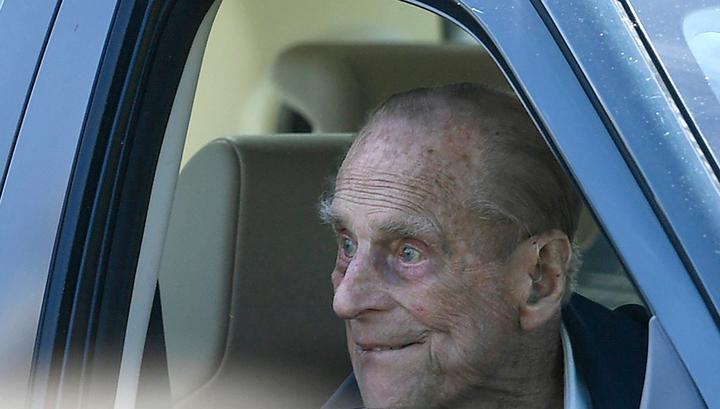 Попавший в ДТП 97-летний супруг Елизаветы II был за рулем трезвым