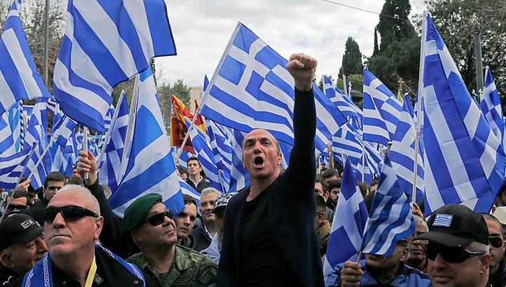 Штурм правительства: в Афинах вспыхнули ожесточенные беспорядки