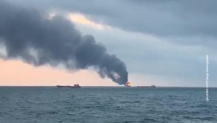 Не менее 10 моряков погибли в Керченском проливе