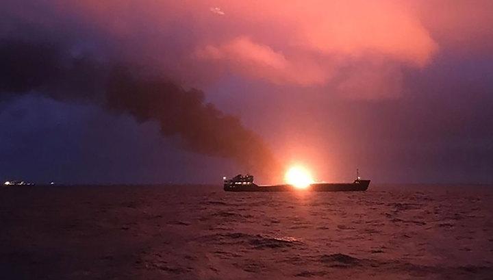 Опознаны 10 погибших моряков с горящих в Черном море танкеров