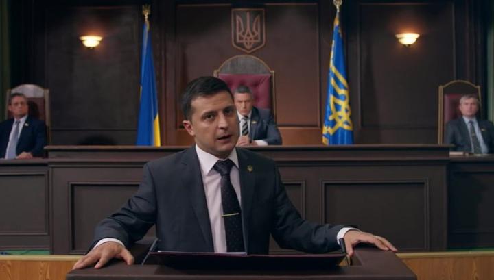 Комик Зеленский пообещал Западу сесть за стол переговоров с Путиным
