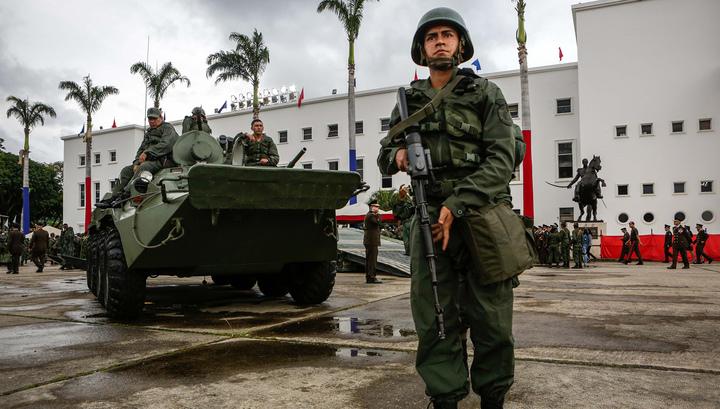 Бежавший из-под ареста лидер оппозиции в Венесуэле укрылся в посольстве Испании