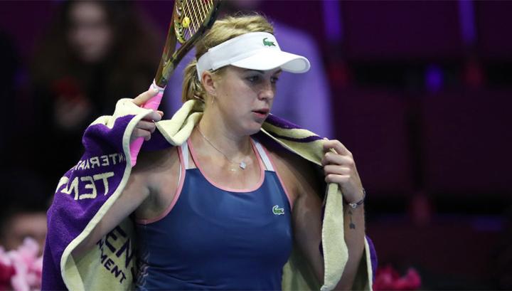 Павлюченкова вышла в четвертьфинал St. Petersburg Ladies Trophy
