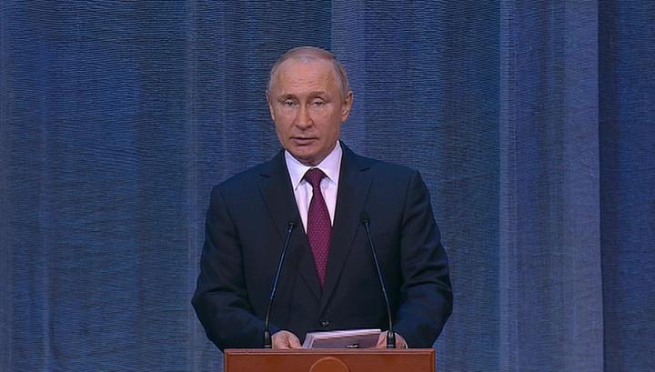 Путин: на Украине реализуется проект, не имеющий отношения к вере