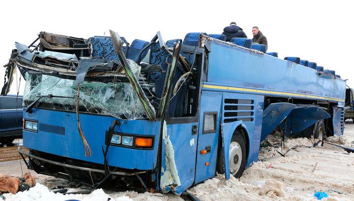 МЧС уточнило данные по жертвам ДТП с детским автобусом