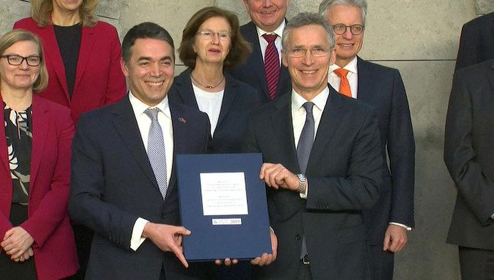 Протокол подписан: Северная Македония вступает в НАТО