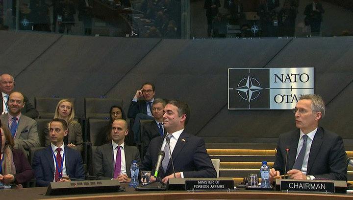 Ратификация протокола о вступлении Северной Македонии в НАТО может занять около года