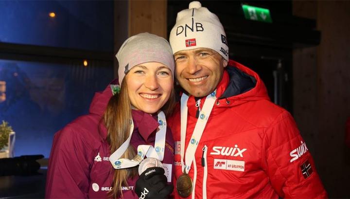 Домрачева и Бьорндален будут готовить сборную Китая к Олимпийским играм-2022