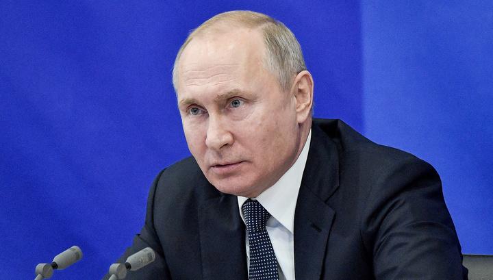 Путин внес проект о приостановке действия ДРСМД